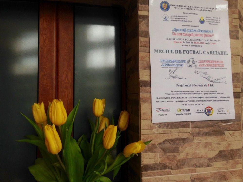28 martie, ziua meciului dintre reprezentantivele Jandarmeriei şi fostelor  glorii din sportul maramureşean