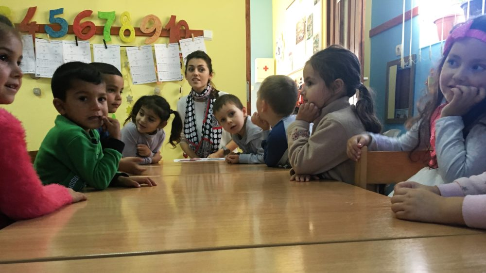 Iubirea, starea insuflată copiilor romi din comunitatea de la Remetea Chioarului