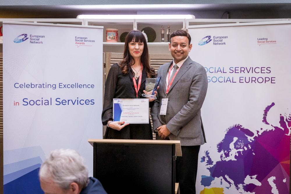 Echipa ASSOC, câștigătoare la gala Premiilor Serviciilor Sociale Europene 2019