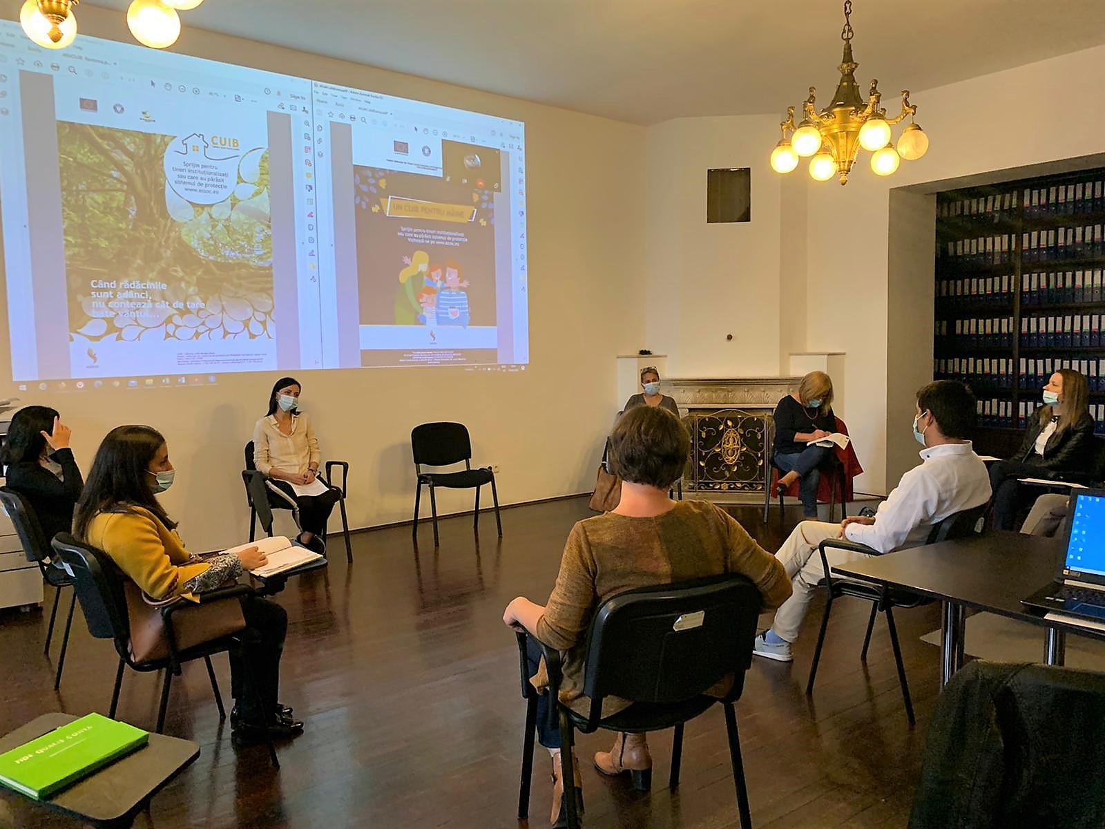 CUIB-uri pentru viitorul bun al tinerilor instituționalizați în sistemul de protecție din Maramureș