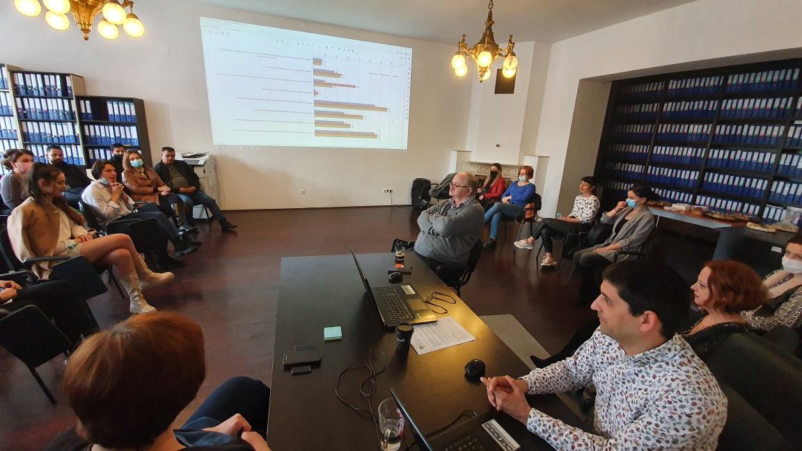 """Oamenii din Finteușu Mic și-au câștigat respectul echipei proiectului """"Integrarea – soluție a modernizării comunității"""""""